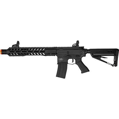 Valken  1 Valken ASL+ Series M4 Airsoft Rifle AEG 6mm Rifle (Whiskey Hi-Velocity)