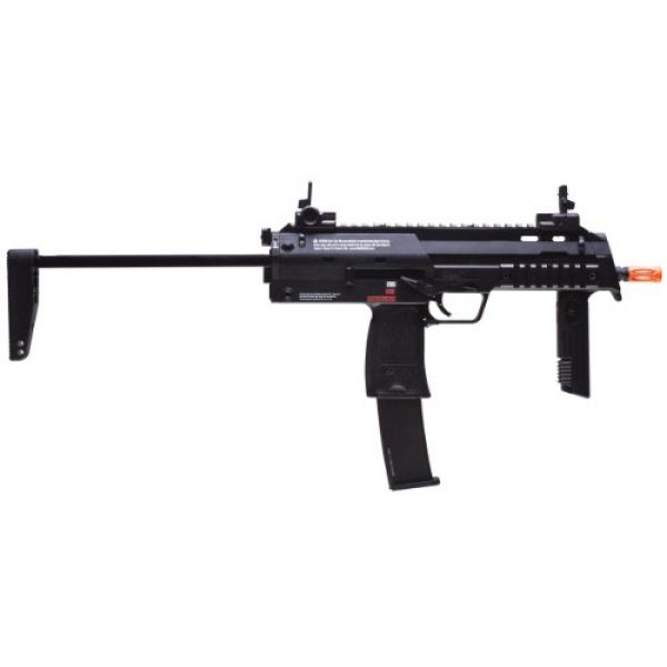 Elite Force Airsoft Rifle 2 HK Heckler & Koch MP7 GBB Automatic 6mm BB Rifle Airsoft Gun, Black