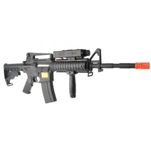 P-Force Airsoft Rifle 1 PForce M4 Full Metal Semi and Full Auto Electric AEG Airsoft Rifle