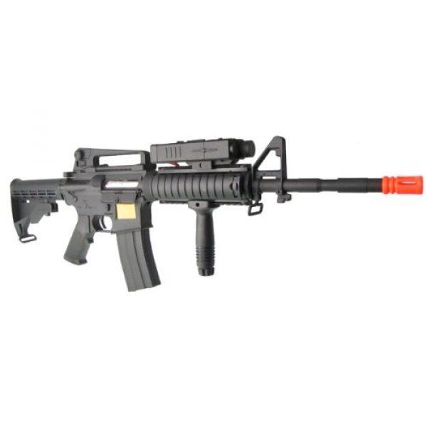 P-Force Airsoft Rifle 1 PForce M4 Full Metal Semi and Full Auto Electric AEG Airsoft Rifle