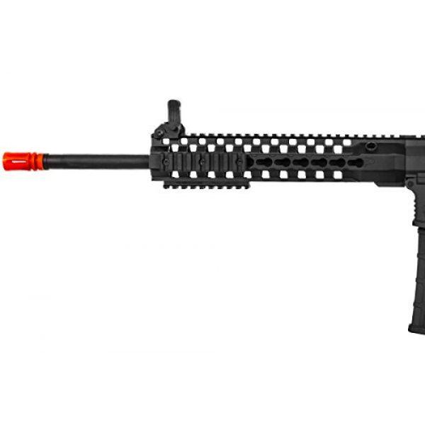 "Lancer Tactical Airsoft Rifle 6 Lancer Tactical M4 Advance Recon Carbine 16"" AEG Airsoft Gun (Black)"
