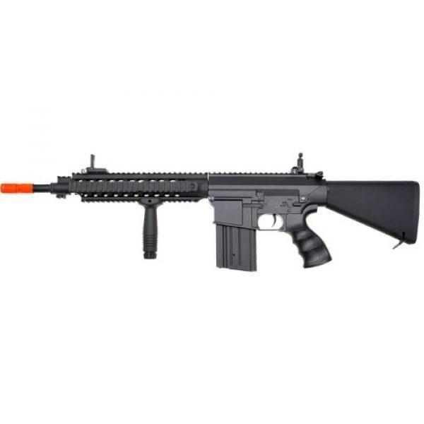 Jing Gong (JG) Airsoft Rifle 5 JG sr 25 full metal aeg airsoft rifle(Airsoft Gun)