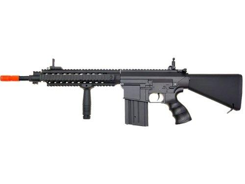 Jing Gong (JG)  5 JG sr 25 full metal aeg airsoft rifle(Airsoft Gun)