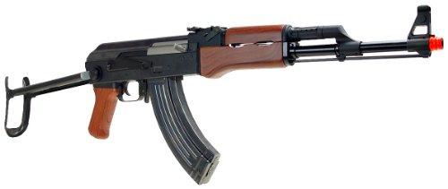 SRC  2 src aeg-a7 folding semi/full auto nimah/charger included-metal gb(Airsoft Gun)