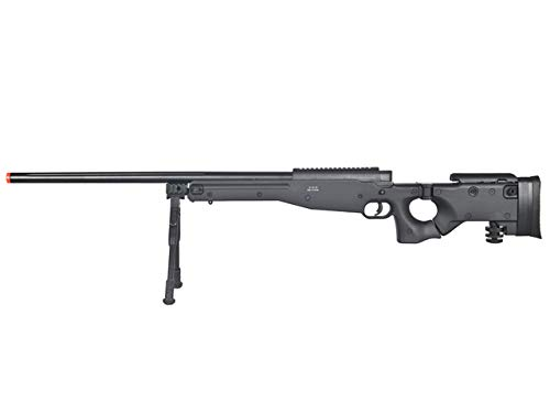 Well  1 Well MB08 Airsoft Sniper Rifle W/Bipod - Black