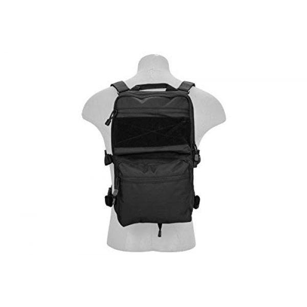 Lancer Tactical Airsoft Tactical Vest 5 Lancer Tactical 1000D Nylon QD Chest Rig and Backpack Combo Black