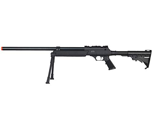Well  1 Well MB06 Airsoft Sniper Rifle W/Bipod - Black