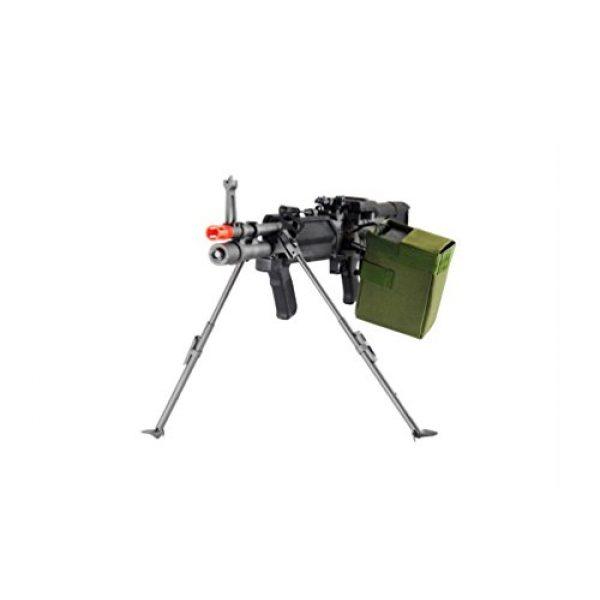 GLORYFIRE Airsoft Rifle 2 GLORYFIRE MK43 AEG Metal Gear Full Metal Body Integrated Bipod