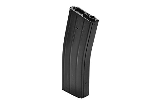 TOMTAC  4 TOMTAC Airsoft M Series Metal Black Flash Magazine MAG 360RDS ASG Pull Cord