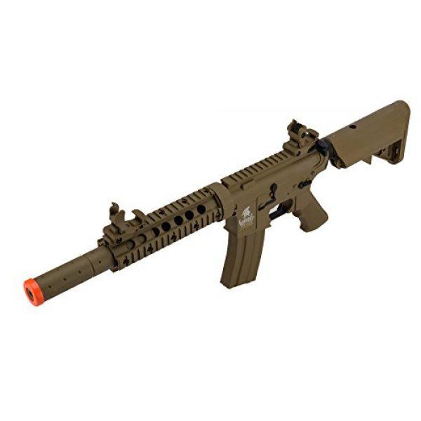 Lancer Tactical Airsoft Rifle 5 Lancer Tactical Airsoft M4 SD GEN 2 Polymer AEG - TAN