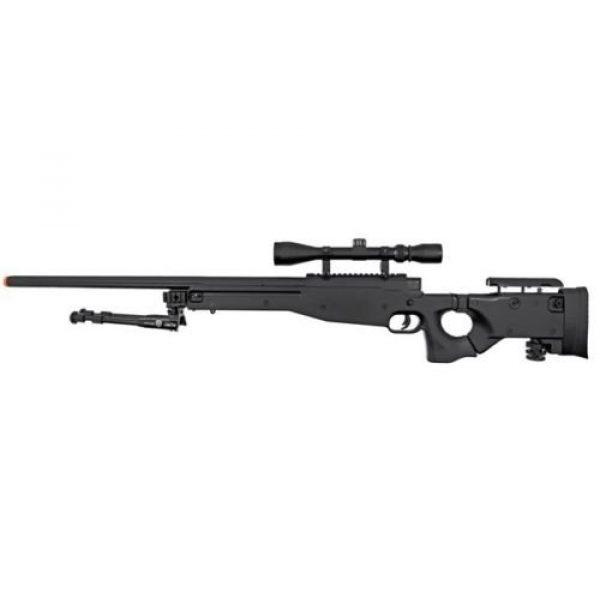 Prima USA Airsoft Rifle 4 well l96 bolt action airsoft sniper rifle hfc metal gas blowback pistol combo pk(Airsoft Gun)