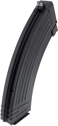 SportPro  5 SportPro Jing Gong 520 Round Flash Metal High Capacity Flash Magazine for AEG AK47 AK74 3 Pack Airsoft - Black