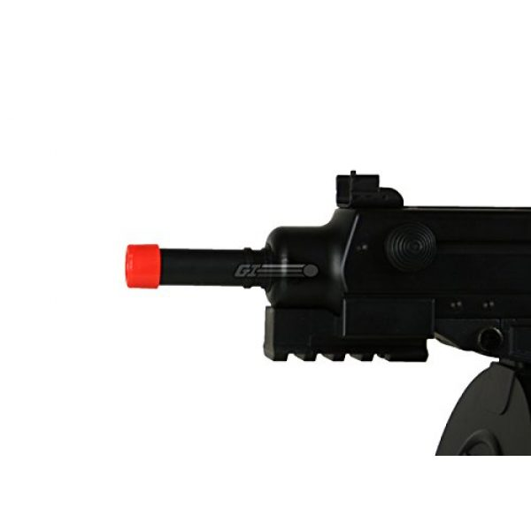 Well Airsoft Rifle 5 Well R2 Skorpion AEP Airsoft SMG (Black)