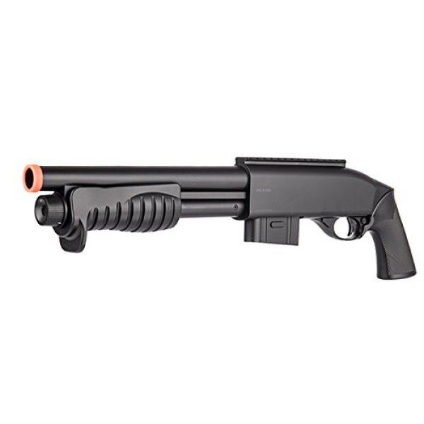 Double Eagle Airsoft Shotgun 3 Double Eagle Tact Pump Action Spring Airsoft Shotgun FPS 335