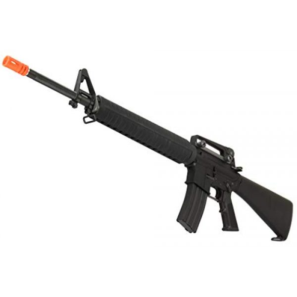 Lancer Tactical Airsoft Rifle 4 Lancer Tactical WE M16A3 Open Bolt Full Metal Gas Blowback Airsoft GBBR Rifle Black