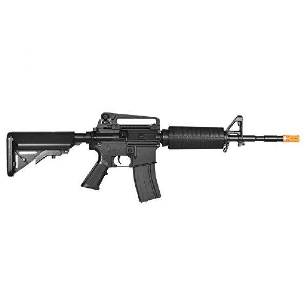 Lancer Tactical Airsoft Rifle 4 Lancer Tactical LT-03B CRANE STOCK M4 AEG METAL GEAR (Color BLACK)