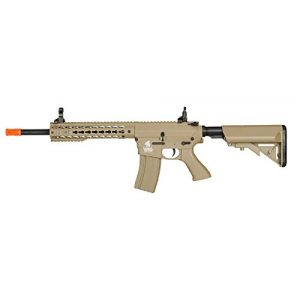 "Lancer Tactical Airsoft Rifle 1 Lancer Tactical Airsoft LT-12TK 10"" Free Floating KeyMod Hguard - TAN"