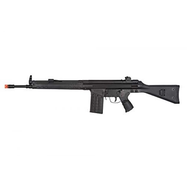 Lancer Tactical Airsoft Rifle 1 Lancer Tactical LCT Stamped Steel Full Stock LC-3A3-S Airsoft AEG Rifle Black