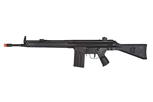 Lancer Tactical  1 Lancer Tactical LCT Stamped Steel Full Stock LC-3A3-S Airsoft AEG Rifle Black