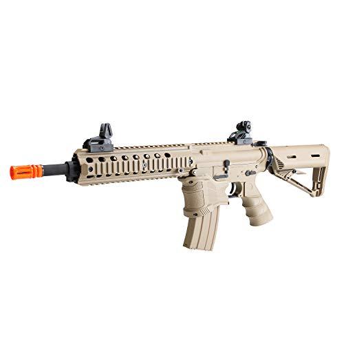 BULLDOG AIRSOFT  4 Bulldog ST Delta QD Airsoft Electric AEG Rifle - Tan