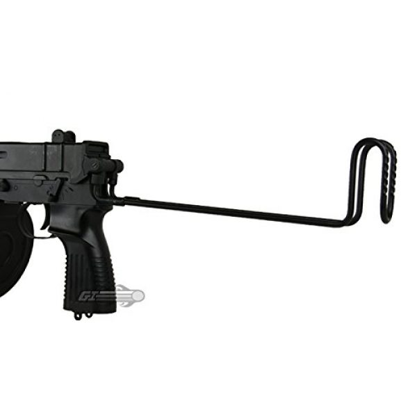 Well Airsoft Rifle 7 Well R2 Skorpion AEP Airsoft SMG (Black)