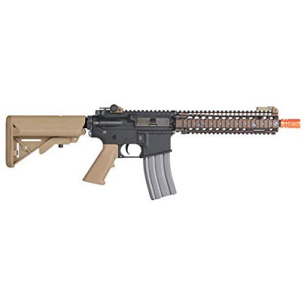 Wearable4U Airsoft Rifle 3 Umarex MK18 Avalon Black/Tan AEG Electric Airsoft Rifle Gun with Wearable4U Bundle