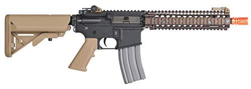 Wearable4U  3 Umarex MK18 Avalon Black/Tan AEG Electric Airsoft Rifle Gun with Wearable4U Bundle