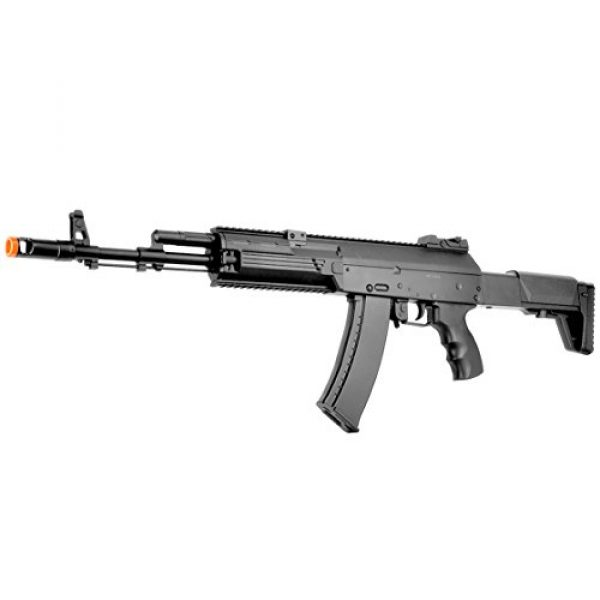 BBTac Airsoft Rifle 1 BBTac AK-47 Airsoft Gun, Electric Airsoft Assault Rifle Fully Automatic AEG with Battery & Charger, Magazine, Shoots 6mm Airsoft Pellets