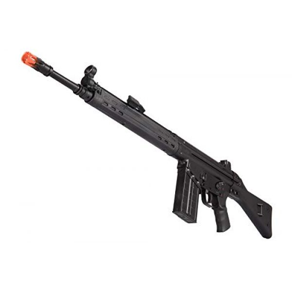 Lancer Tactical Airsoft Rifle 5 Lancer Tactical LCT Stamped Steel Full Stock LC-3A3-S Airsoft AEG Rifle Black