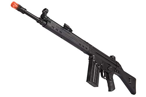 Lancer Tactical  5 Lancer Tactical LCT Stamped Steel Full Stock LC-3A3-S Airsoft AEG Rifle Black