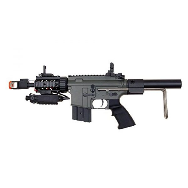 Jing Gong (JG) Airsoft Rifle 1 JG aeg-m4cqb semi/full auto nicads/charger incl.-metal g-box(Airsoft Gun)