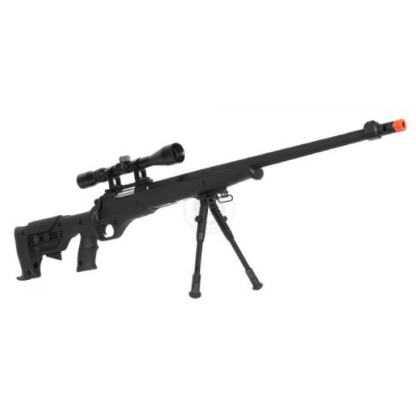 Airgunplace Airsoft Rifle 2 wellfire mb11d full metal bolt action sniper rifle w/ scope and bipod(Airsoft Gun)