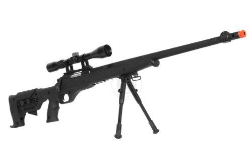 Airgunplace  2 wellfire mb11d full metal bolt action sniper rifle w/ scope and bipod(Airsoft Gun)