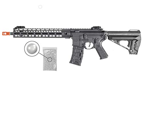 Wearable4U  1 Umarex Elite Force Avalon Saber Carbine M-LOK Gen2 AEG Electric 6mm BB Rifle Airsoft Gun with Wearable4U Bundle