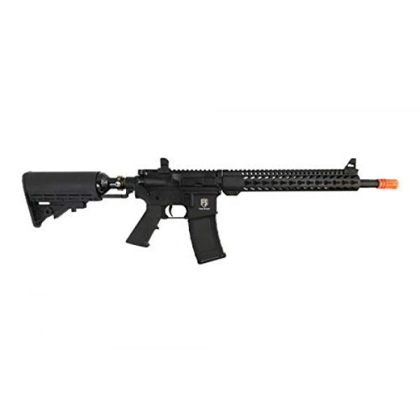 First Strike Airsoft Rifle 1 First Strike T15-A1 Carbine Gas Blow Back Airsoft Rifle w/Integrated 13/3000 Tank Stock
