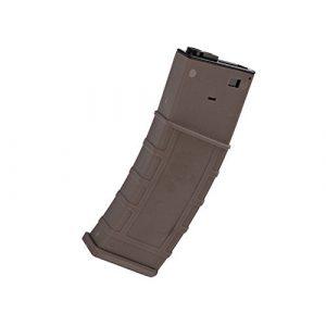 LONEX Airsoft Gun Magazine 1 Lonex AIRSOFT M4 M16 SCAR PLASTIC TAN DE FLASH PMAG MAGAZINE 360RDS ASG PULL CORD