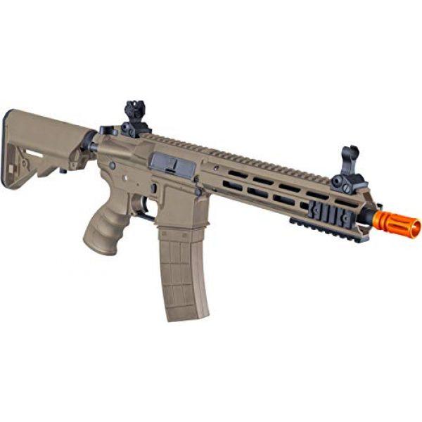 Tippmann Airsoft Airsoft Rifle 4 Tippmann Tactical Recon AEG CQB 9.5in Airsoft Rifle Tan