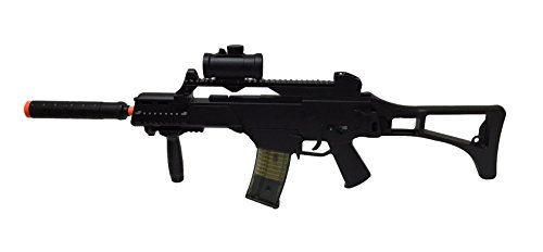 Double Eagle  1 JustAirsoftUSA M85 Electric Rifle Airsoft Gun w/ accessories