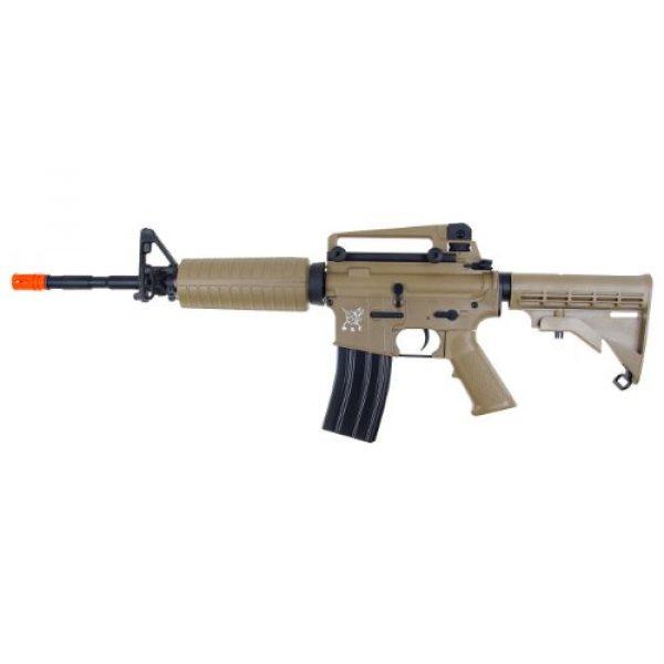 SRC Airsoft Rifle 1 src aeg-m4a1 semi/full auto nimah/charger included-metal gb/tan(Airsoft Gun)