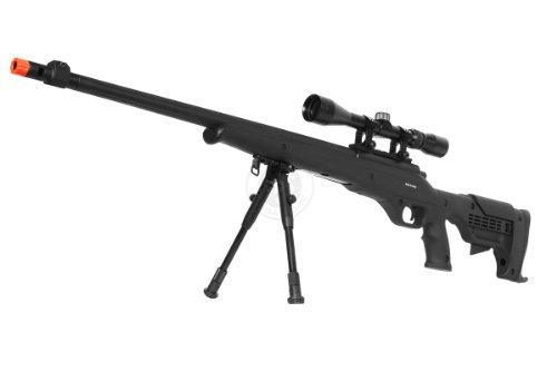 Airgunplace  1 wellfire mb11d full metal bolt action sniper rifle w/ scope and bipod(Airsoft Gun)