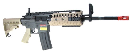 Jing Gong (JG)  3 JG aeg-m4 system nicads/charger included-metal g-bx/camo(Airsoft Gun)