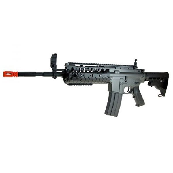 Jing Gong (JG) Airsoft Rifle 6 JG M4 RIS System with Rifle Scope Sniper Airsoft Gun 500 FPS
