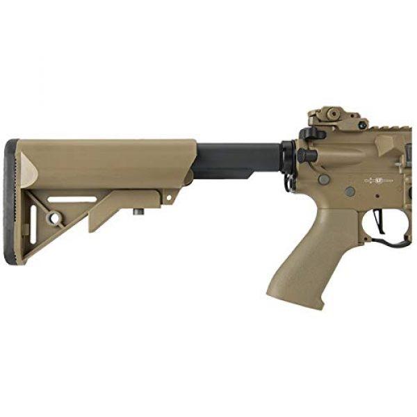 "Lancer Tactical Airsoft Rifle 5 Lancer Tactical M4 SD Proline Series 9"" Rail Airsoft AEG [Low FPS] - TAN"