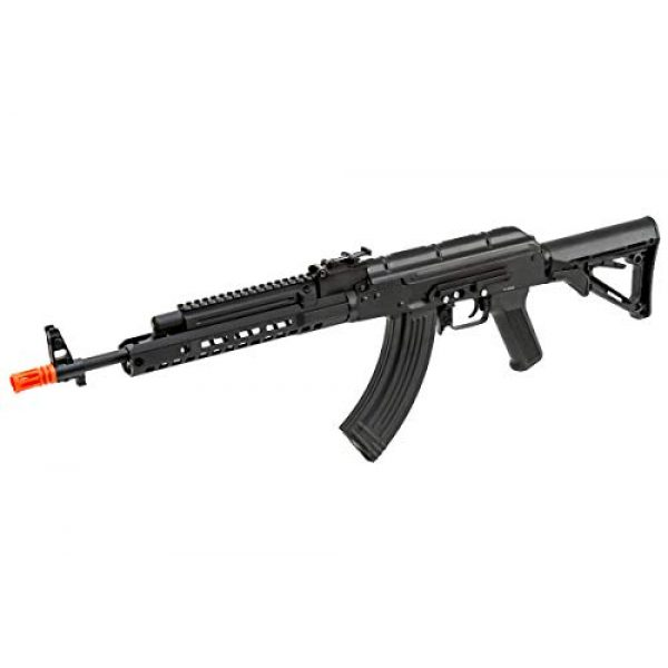 Double Bell Airsoft Rifle 1 Double Bell AK47 Tactical M-LOK Airsoft AEG Rifle (Black)