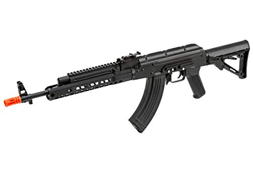 Double Bell  1 Double Bell AK47 Tactical M-LOK Airsoft AEG Rifle (Black)