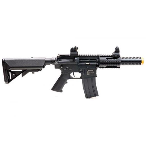 Black Ops Airsoft Rifle 3 Black Ops SR4 CQB AEG Rifle - Electric Fully Automatic Airsoft Gun - .20 .25 BBS