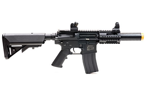 Black Ops  3 Black Ops SR4 CQB AEG Rifle - Electric Fully Automatic Airsoft Gun - .20 .25 BBS