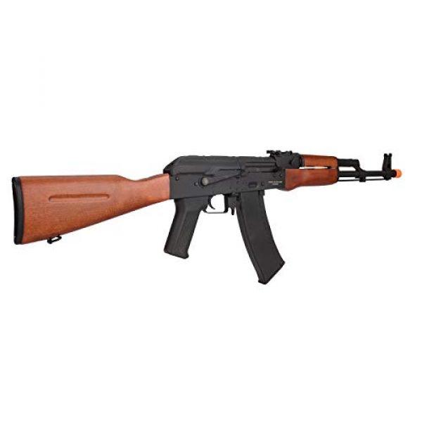 Lancer Tactical Airsoft Rifle 3 Lancer Tactical AK-74N Series AEG Airsoft Rifle Real Wood Furniture