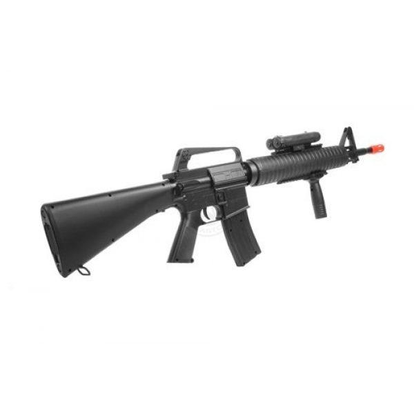 Well Airsoft Rifle 2 wellfire m16a3 Spring Airsoft Rifle - w/Vertical Grip & Flashlight Unit m16(Airsoft Gun)