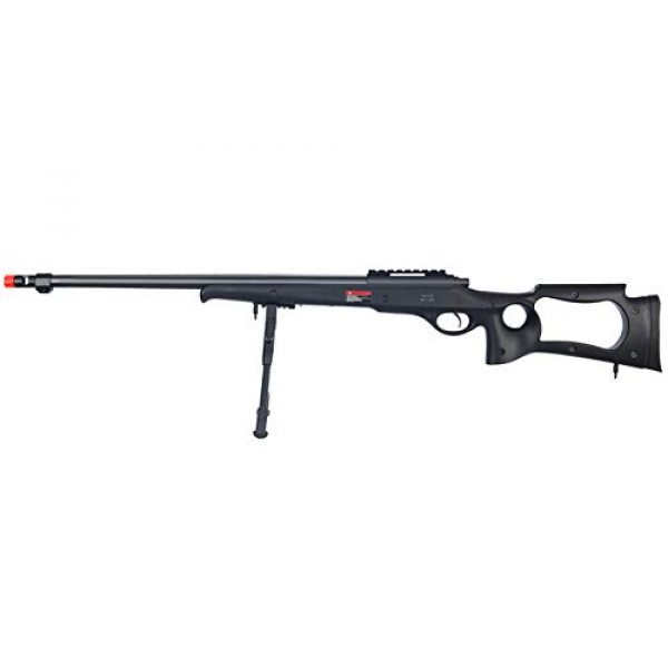 Well Airsoft Rifle 1 Well MB10 Airsoft Sniper Rifle W/Bipod - Black